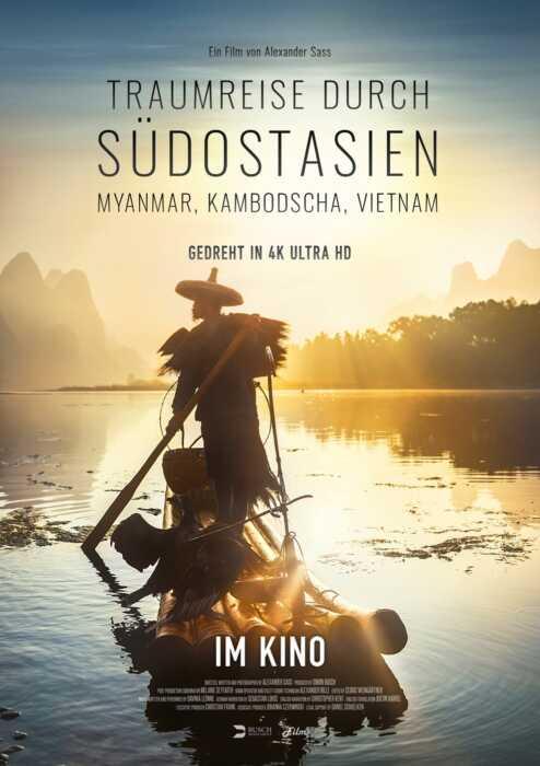 Traumreise durch Südostasien - Myanmar, Kambodscha, Vietnam (Poster)