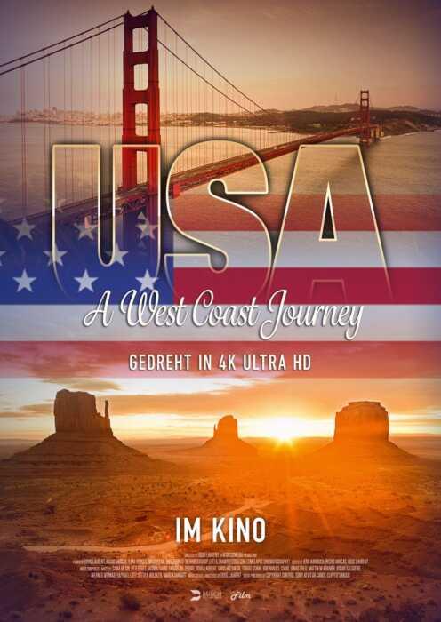 USA - A West Coast Journey (Poster)