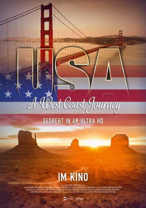 USA - A West Cost Journey (Poster)
