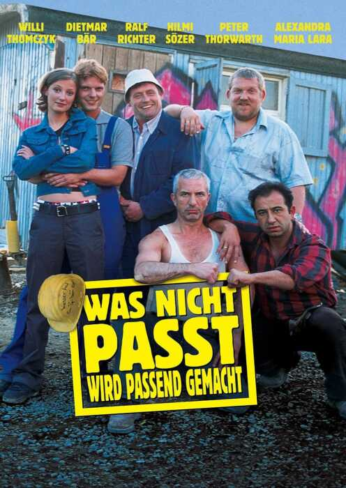 Was nicht passt, wird passend gemacht (2002) (Poster)