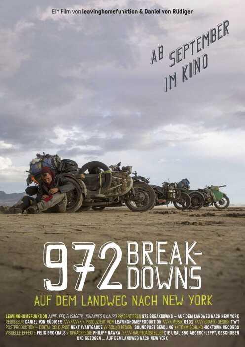 972 Breakdowns - Auf dem Landweg nach New York (Poster)