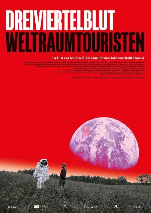Dreiviertelblut - Weltraumtouristen (Poster)
