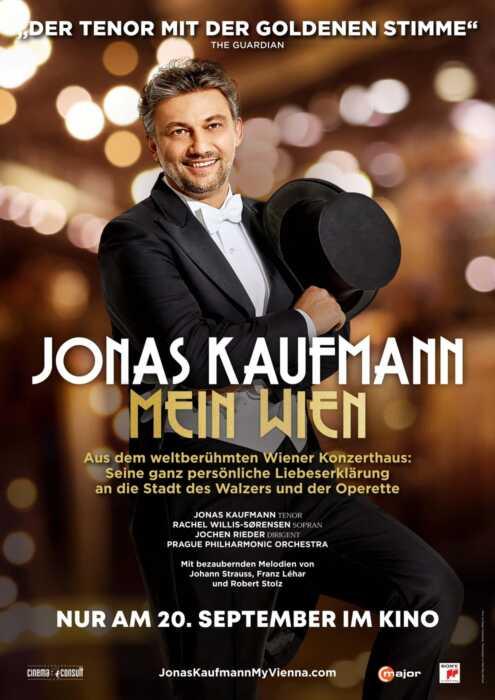 Jonas Kaufmann: Mein Wien (Poster)
