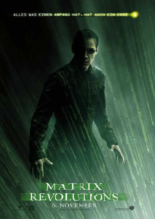 Matrix Revolutions (Poster)