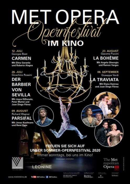 Met Opera 2020/21: La Boheme (Giacomo Puccini) (Poster)