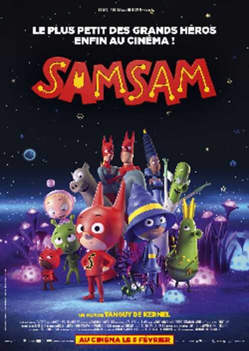 SamSam - Der kleine Superheld (Poster)