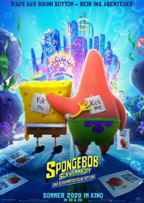 SpongeBob Schwammkopf: Eine schwammtastische Rettung (Poster)