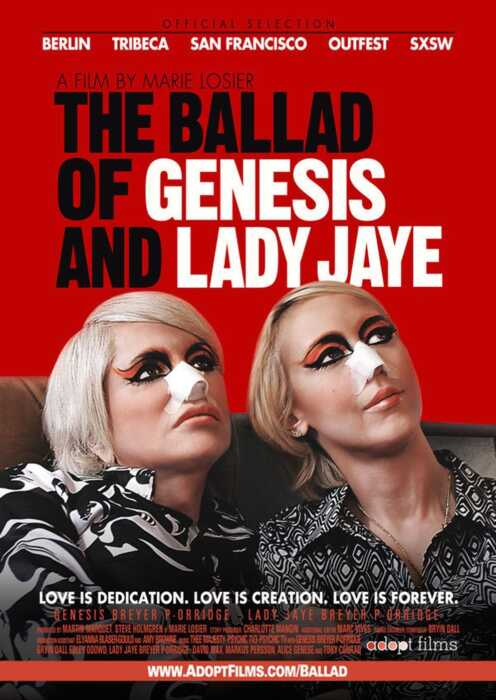 The Ballad of Genesis and Lady Jaye (Poster)