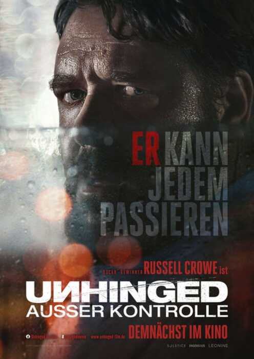Unhinged - Ausser Kontrolle (Poster)