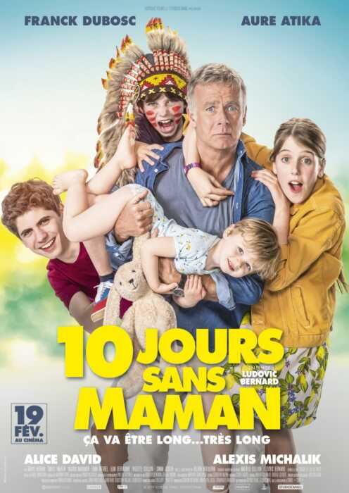 Zehn Tage ohne Mama (Poster)
