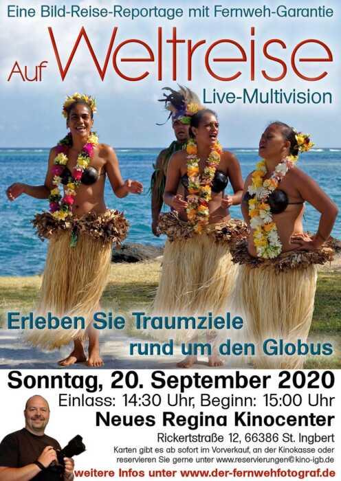 Auf Weltreise - Live-Multivision (Poster)