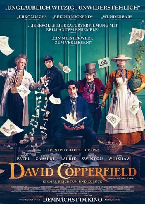 David Copperfield - Einmal Reichtum und zurück (Poster)