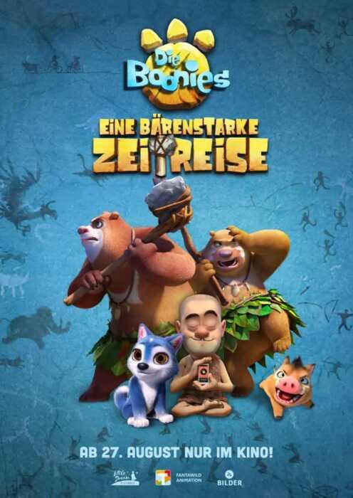 Die Boonies - Eine bärenstarke Zeitreise (Poster)