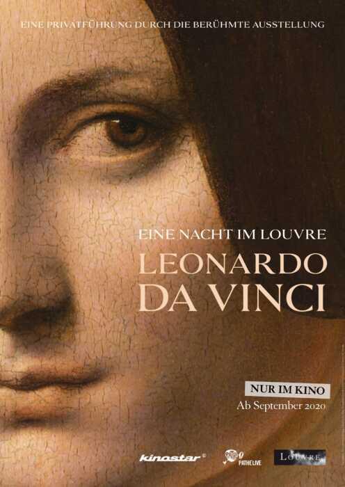 Eine Nacht im Louvre: Leonardo da Vinci (Poster)