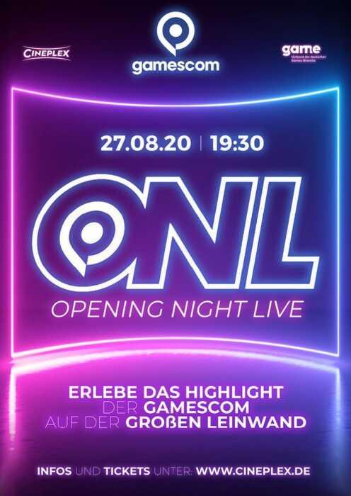 gamescom 2020: Opening Night Live (Poster)
