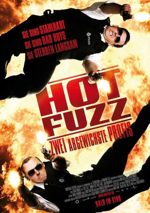 Hot Fuzz - Zwei abgewichste Profis (Poster)