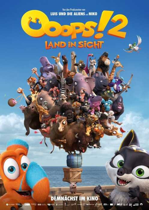 Ooops! 2 - Land in Sicht (Poster)