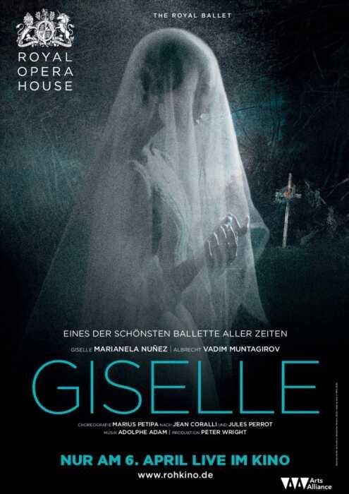Royal Opera House 2015/16: Giselle (Poster)