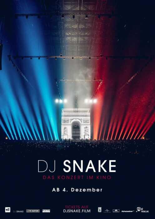 DJ Snake - Das Konzert im Kino (Poster)