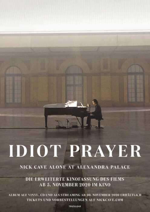 Idiot Prayer - Nick Cave alone at Alexandra Palace (Poster)