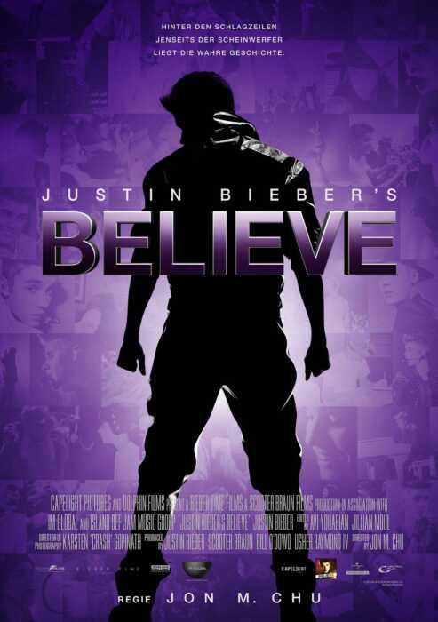 Justin Bieber's Believe (Poster)