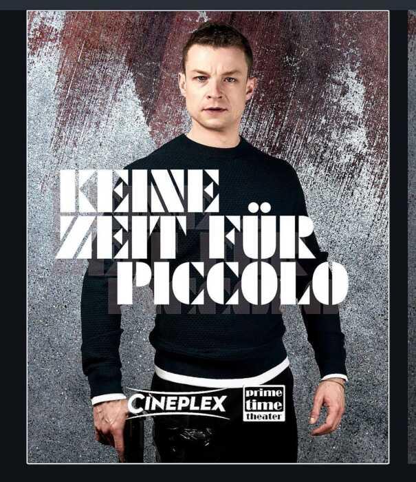 Keine Zeit für Piccolo (Poster)