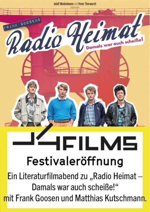 LITFILMS Festivaleröffnung: Mattek und Fränge zeigen einen Film (Poster)