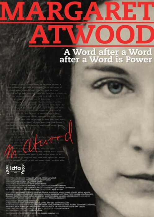 Margaret Atwood: A Word after a Word after a Word is Power (Poster)