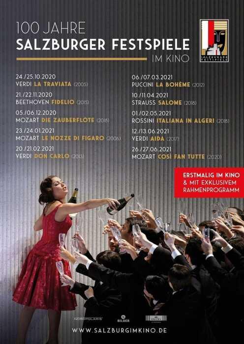 Salzburg im Kino 20/21: Mozart - Die Zauberflöte (2018) (Poster)