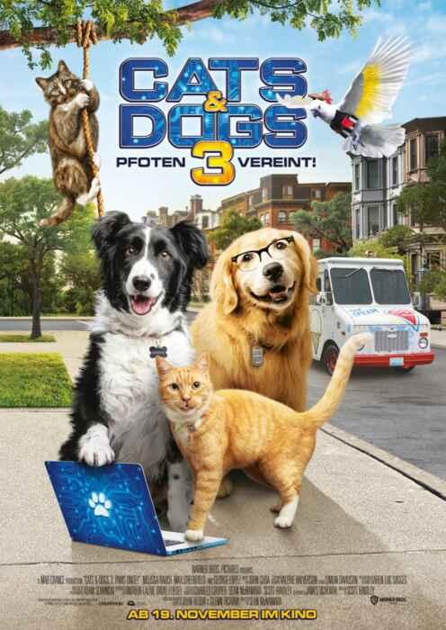 Cats & Dogs 3: Pfoten vereint! (Poster)