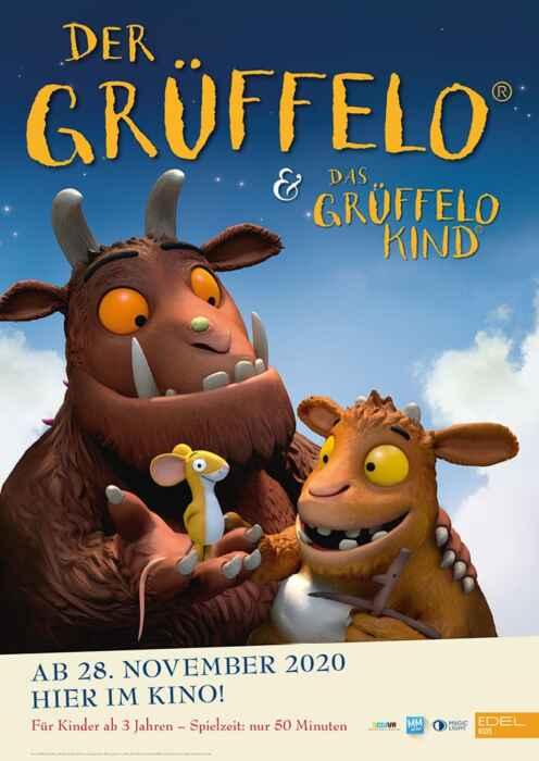 Das Grüffelo-Doppel: Der Grüffelo und Das Grüffelokind (Poster)