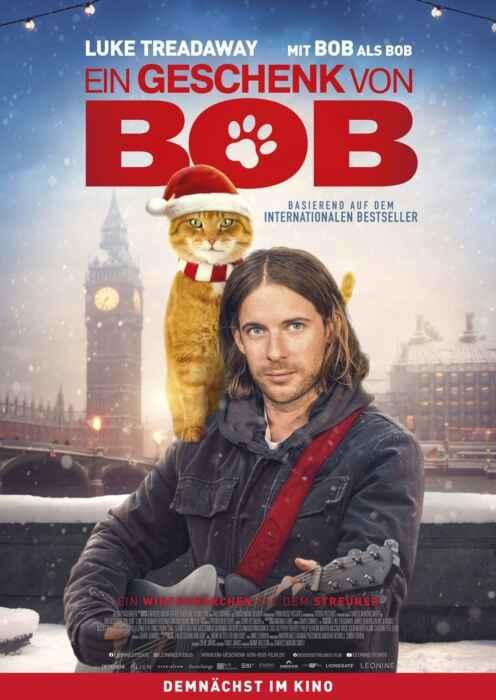 Ein Geschenk von Bob (Poster)