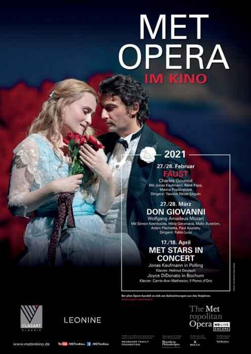 MET Opera 2020/21: Gounod Faust (2011) (Poster)