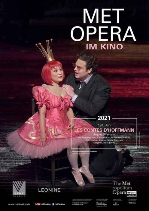 Met Opera 2020/21: Offenbach Les Contes d' Hoffmann (2009) (Poster)