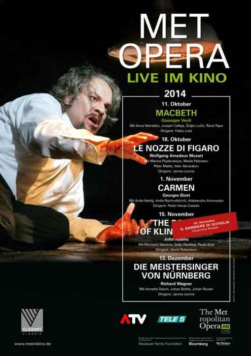 MET Opera 2020/21: Verdi Macbeth (2014) (Poster)