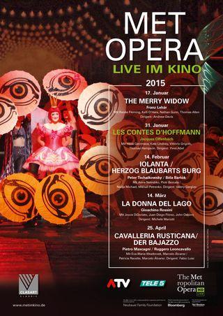 MET Opera: Les Contes D'Hoffmann (Offenbach) (Poster)