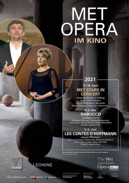 Met Stars Live in Concert 2020/21: Jonas Kaufmann in Polling (Poster)