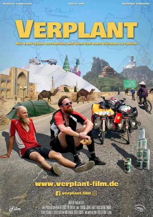 Verplant - Wie zwei Typen versuchen, mit dem Rad nach Vietnam zu fahren (Poster)