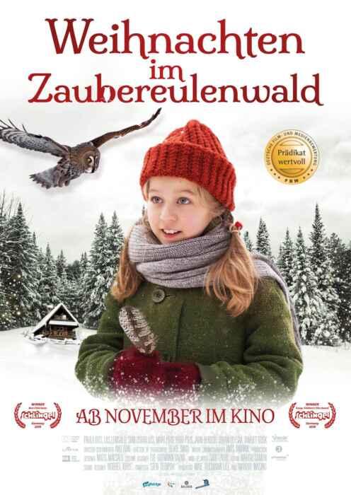Weihnachten im Zaubereulenwald (Poster)