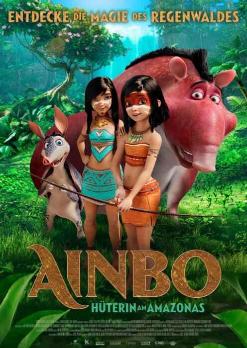Ainbo - Hüterin am Amazonas (Poster)