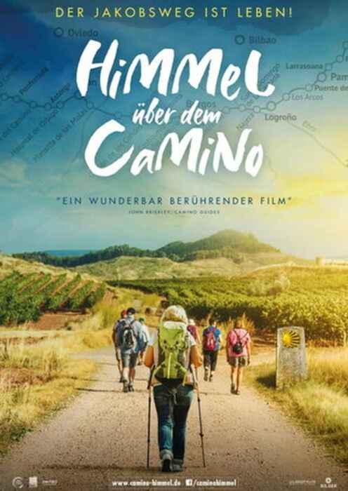 Himmel über dem Camino - Der Jakobsweg ist Leben! (Poster)