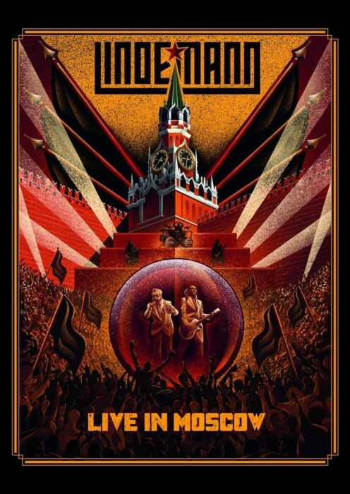 Lindemann - Live in Moscow (Poster)