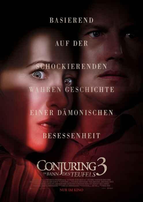 Conjuring 3: Im Bann des Teufels (Poster)