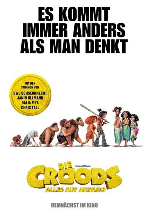 Die Croods - Alles auf Anfang (Poster)