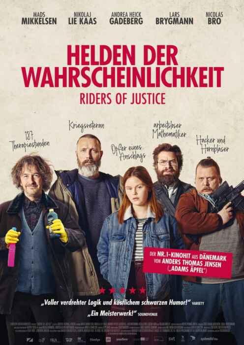 Helden der Wahrscheinlichkeit - Riders Of Justice (Poster)