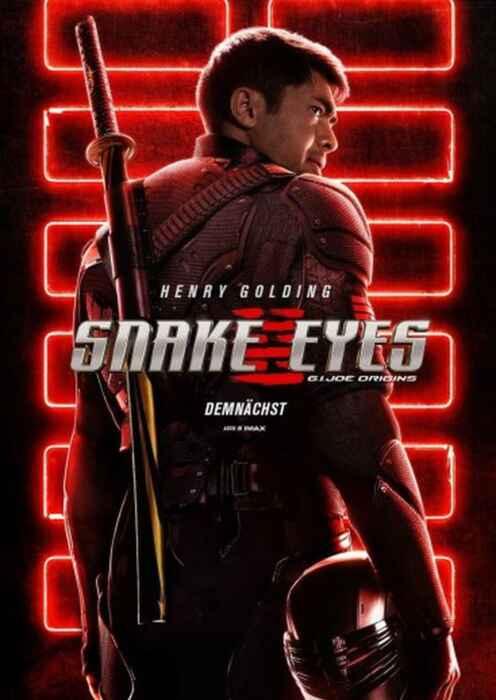 Snake Eyes: G.I. Joe Origins (Poster)