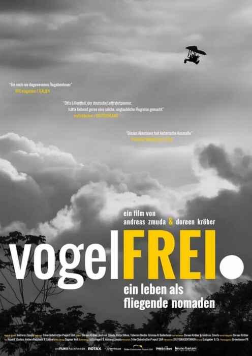Vogelfrei. Ein Leben als fliegende Nomaden (Poster)