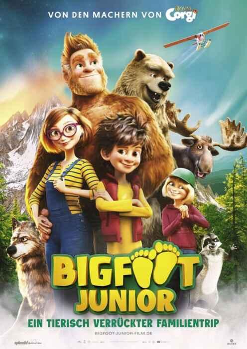 Bigfoot Junior - Ein tierisch verrückter Familientrip (Poster)