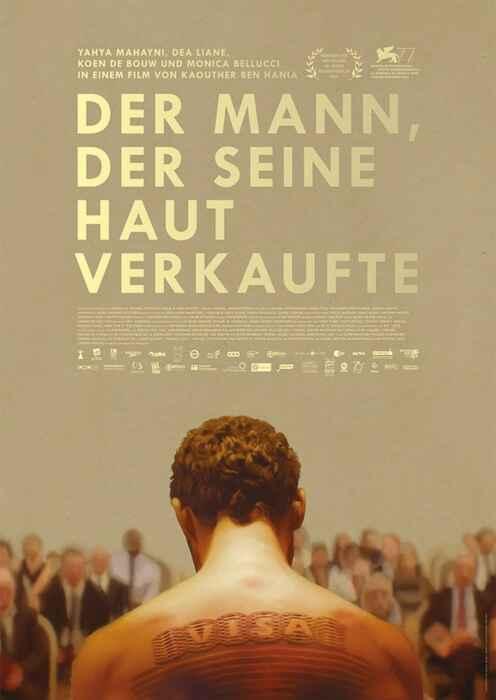 Der Mann, der seine Haut verkaufte (Poster)