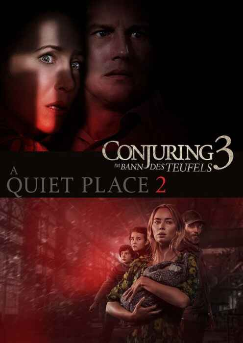Doppel: Conjuring 3 + Quiet Place 2 (Poster)